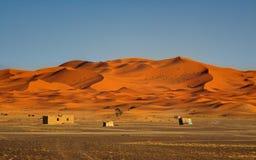 Edge of the Sahara Desert Stock Images