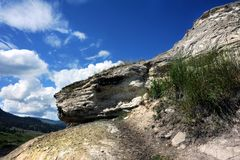 Edge of Soda Butte Stock Photography