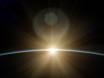 The Edge of space Stock Images
