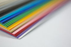 Edge of the stack of  paper Stock Images