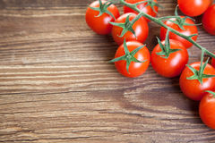 Edge of tomato Royalty Free Stock Photography