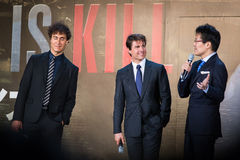 'Edge of Tomorrow' Japan Premiere Royalty Free Stock Images