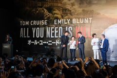 'Edge of Tomorrow' Japan Premiere Royalty Free Stock Photography
