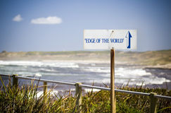 Edge of the World Royalty Free Stock Photos