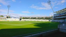 Edgebaston cricket stadium royalty free stock photo