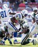 Edgerrin James, Indianapolis Colts Imagen de archivo libre de regalías