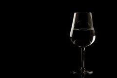 edges exponeringsglas markerad wine Arkivbild