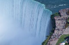 Edges of Niagara Fall Royalty Free Stock Image