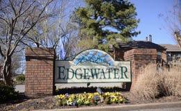Edgewater公寓,孟菲斯, TN 库存图片