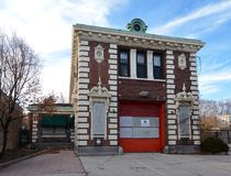 Edgewater Fire Station Royalty Free Stock Image