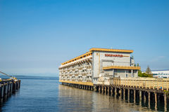 The Edgewater Hotel is famous for hosting and lodging  The Beatles in 1964 Royalty Free Stock Images