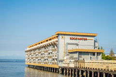 The Edgewater Hotel is famous for hosting and lodging  The Beatles in 1964 Stock Photos