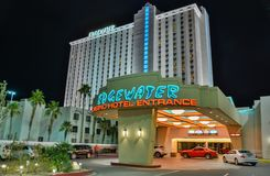 Edgewater hotel w Laughlin, NV obraz stock