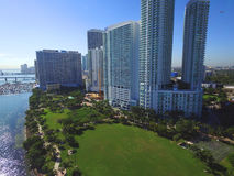 Edgewater Miami Stock Photo