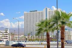 Edgewaterhotel en Casino stock foto