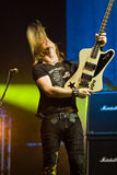 Edguy. On Masters of Rock 2012 Royalty Free Stock Photography