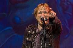Edguy. On Masters of Rock 2012 Royalty Free Stock Image