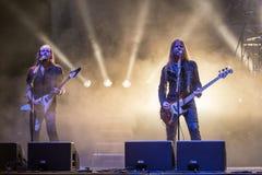 Edguy chez Metalfest 2015A Photographie stock