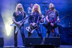 Edguy chez Metalfest 2015A Photo stock