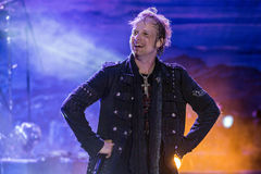 Edguy  at Metalfest 2015A Stock Photography