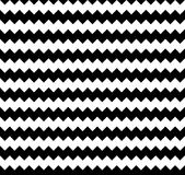 Edgy seamlessly repeatable zig-zag pattern. Abstract monochrome. Background - Royalty free vector illustration Royalty Free Stock Image