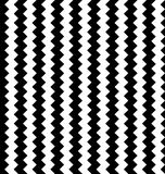 Edgy seamlessly repeatable zig-zag pattern. Abstract monochrome. Background - Royalty free vector illustration Royalty Free Stock Photos