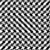 Edgy seamlessly repeatable zig-zag pattern. Abstract monochrome. Background - Royalty free vector illustration Stock Photography