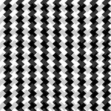 Edgy seamlessly repeatable zig-zag pattern. Abstract monochrome. Background - Royalty free vector illustration Royalty Free Stock Images