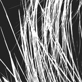 Edgy texture with chaotic, random lines. Abstract geometric illu Stock Photo