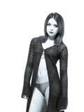 Edgy Young Female In Bikini Royalty Free Stock Image