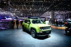 Edição do aniversário de Jeep Renegade 75th Fotos de Stock Royalty Free