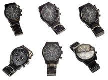 Edição limitada do relógio de Seiko isolada no fundo branco Foto de Stock