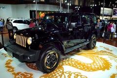 Edição SUV do dragão de Jeep Wrangler Foto de Stock Royalty Free