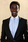 Edi Gathegi arrives at the ABC / Disney International Upfronts Royalty Free Stock Images