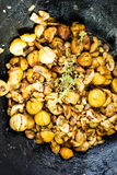 Edible chestnut Stock Image