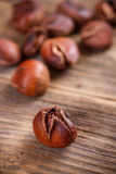 Edible chestnuts Royalty Free Stock Photos