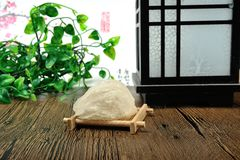 Edible Collocalia`s nest. For thousand of years, the Chinese have deemed bird's nests as one of the best nutritious food that has a therapeutic effect on stock photo