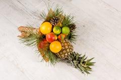 Edible colorful bouquet. Stock Photos