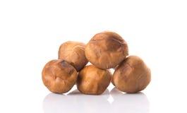 Edible Mushroom Isolated III Stock Image