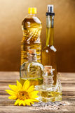 Edible oils Royalty Free Stock Image