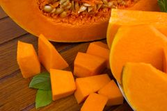 Edible pumpkin Royalty Free Stock Photo