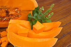 Edible pumpkin Stock Photo