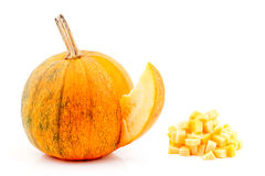 Edible pumpkin. Stock Photos