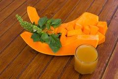 Edible pumpkin - squash Royalty Free Stock Images