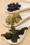 Edible seaweed. Royalty Free Stock Images