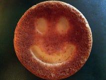 Edible smile royalty free stock photo