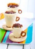 Edible teacup cookies Stock Photo