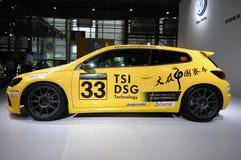 Edición de China de la taza de Volkswagen Scirocco Foto de archivo