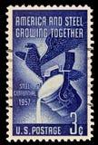 Edición de la industria americana y de acero Imagen de archivo libre de regalías