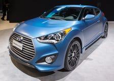 Edición 2015 de la reunión de Hyundai Veloster Fotos de archivo
